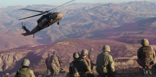 Kato Dağı'nda 7 Terörist Öldürüldü