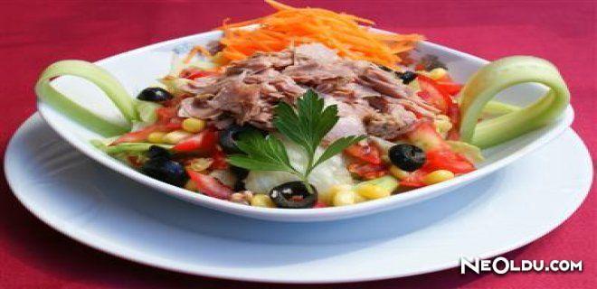 Ton Balıklı Bozcaada Salatası Tarifi
