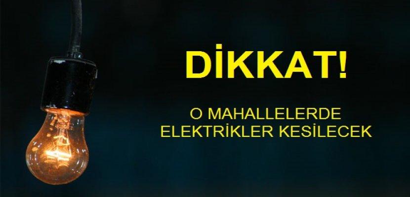 İstanbul'da O İlçelerde Elektrik Kesintisi