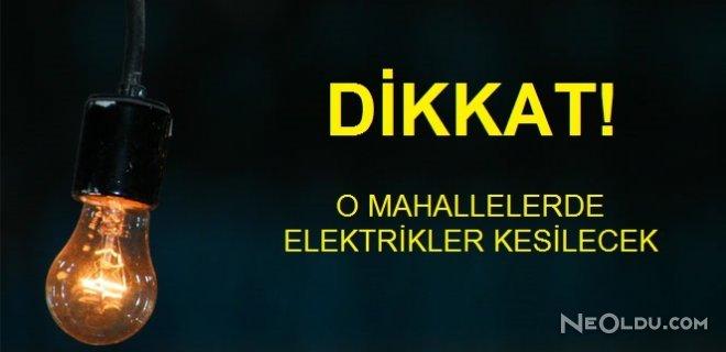 İstanbul'un 11 İlçesinde Elektrik Kesintisi