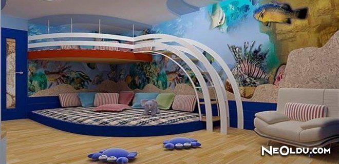Sıradışı Çocuk Odası Tasarımları
