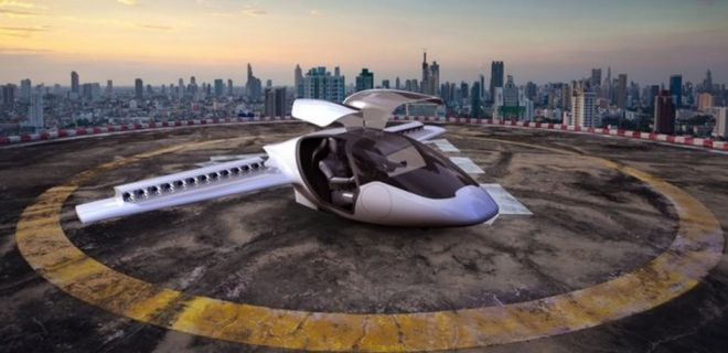 Dikey Kalış Yapabilen Elektrikli Uçak: Lilium Jet