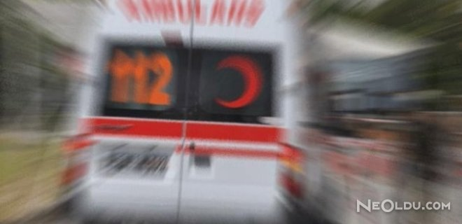 LPG'li Otomobilde Patlama: 4 Yaralı