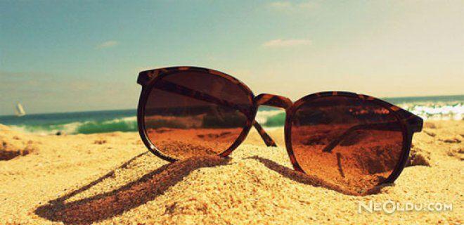 Taklit Güneş Gözlüğüne Dikkat