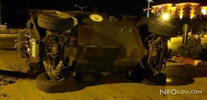 Askeri Araçla Otomobil Çarpıştı! Yaralılar Var