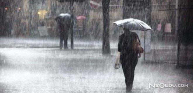 Meteorolojiden 5 İle Sağanak Yağış Uyarısı