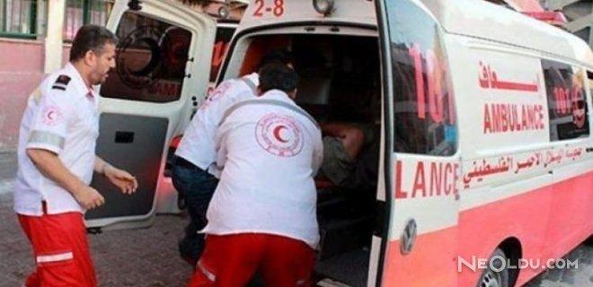 Filistin'de Patlama: 5 Asker Yaralı