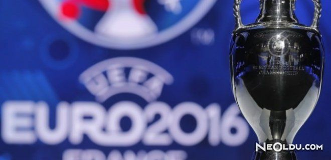 EURO 16 Ev Sahipliği Fransa'da