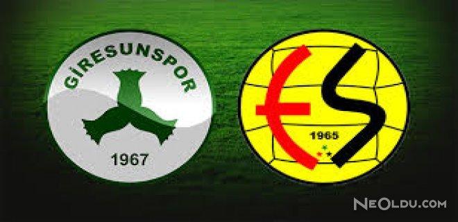 Giresunspor-Eskişehirspor Maçında Gol Yağmuru