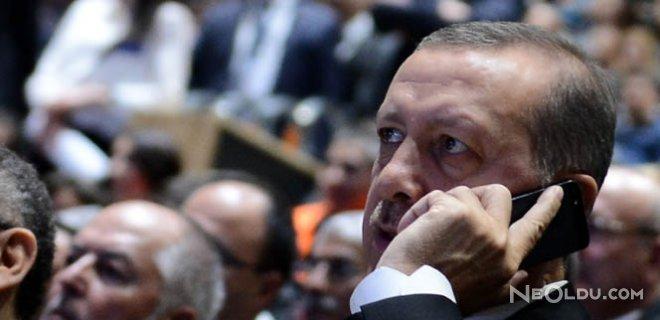 Erdoğan Macron ve Al Sani ile Görüştü