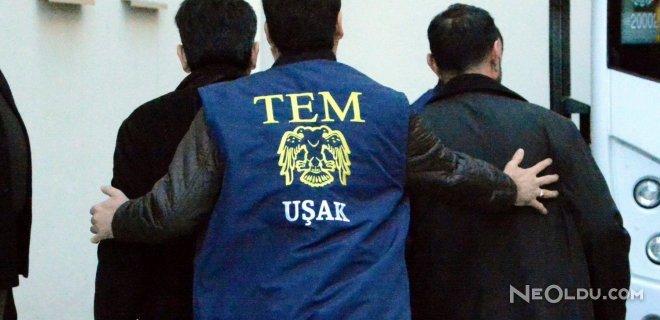 Uşak'taki FETÖ Operasyonunda 5 Kişi Tutuklandı