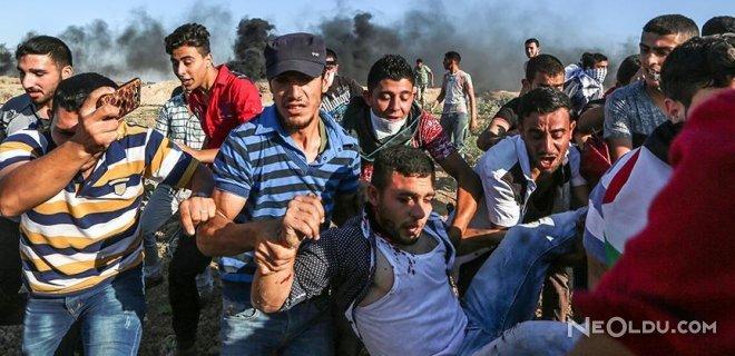 İsrail Askerleri 3 Filistinli Genci Yaraladı