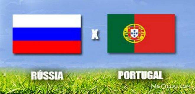 Rusya Portekiz'i 1-0 Mağlup Etti