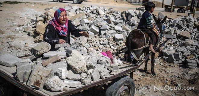 İsrail'in Gazze'ye Uyguladığı Yasak Can Aldı