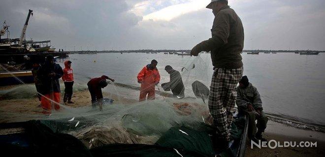 İsrail'den Gazzeli Balıkçılara Kısıtlama