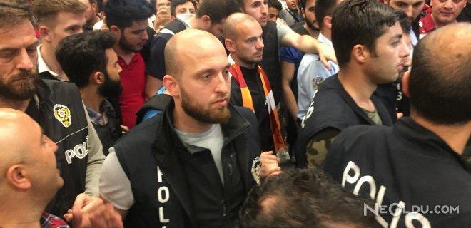 Wesley Sneijder İstanbul'a Geldi