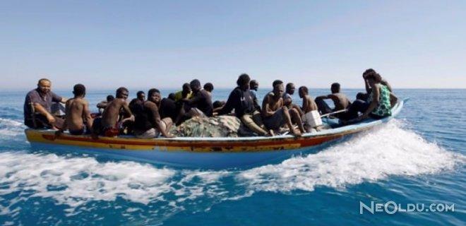 Libya Açıklarında 40 Göçmen Kayıp!