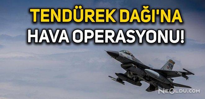 Hava Operasyonunda Teröristlere Ağır Darbe