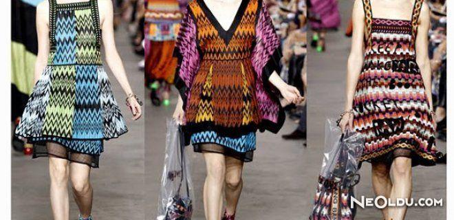 Aztek Desenli Kıyafetler Modayı Sardı