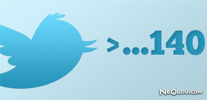 Twitter'da 140 Karakter Uygulaması Tarih Oluyor