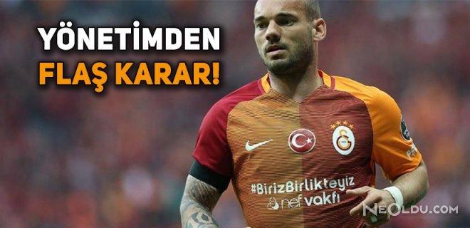 Sneijder ile Yollar Ayrıldı!