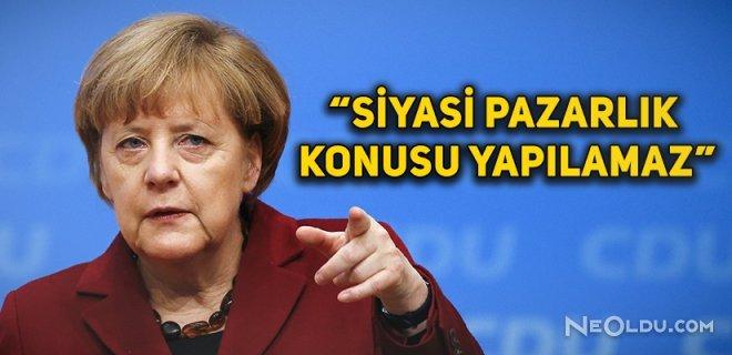"""Merkel'den """"Konya Ziyareti"""" Açıklaması"""