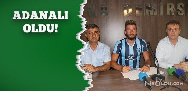 Yiğit İncedemir Yeniden Adana Demirspor'da