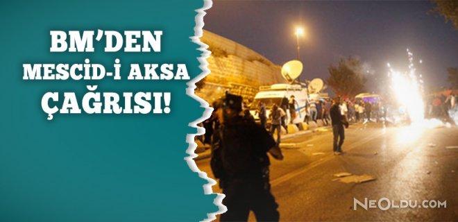Birleşmiş Milletler'den Mescid-i Aksa Çağrısı