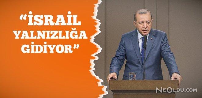 Cumhurbaşkanı Erdoğan Döner Dönmez Konuştu