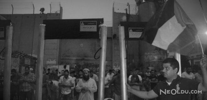 İsrail Metal Dedektörleri Kaldırdı