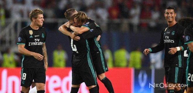 Süper Kupanın Sahibi Real Madrid Oldu