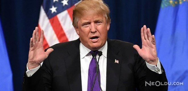 "ABD Başkanı Trump: ""Yaşananlar Bağnazlık"""