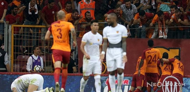 Galatasaray 3 Puanla Sezonu Açtı