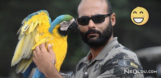 Bu Papağan Arapları Sıraya Dizdi