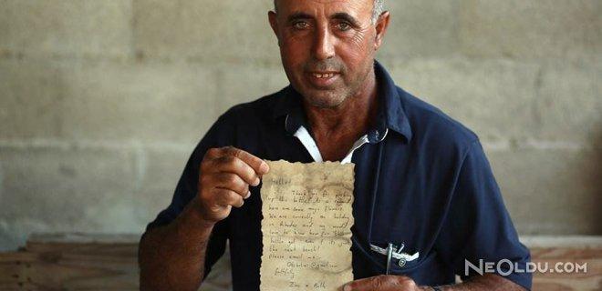 Balıkçıların Ağına Rum Çiftin Mektubu Takıldı