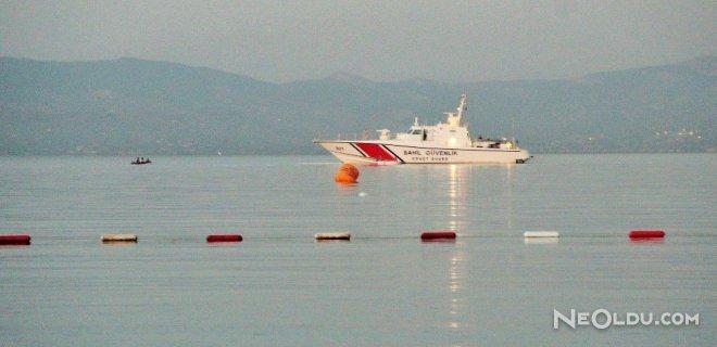 Bodrum'da Sürat Teknesi Cayır Cayır Yandı