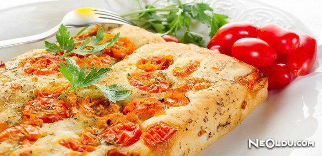 İtalyan Ekmeği Foccacia Tarifi