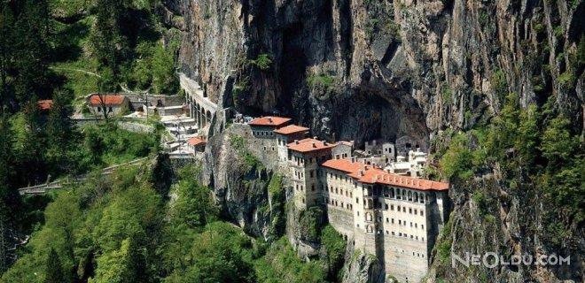 Sümela Manastırı'nın Büyük Bölümü Tamamlandı