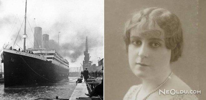 Titanikten Sağ Kurtulduğunu İddia Eden Berthe Antonine Mayné
