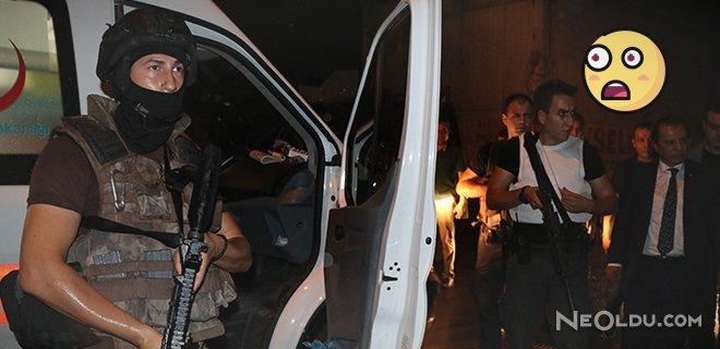 Adana'da Yüzü Maskeli 2 Kişi Polise Ateş Açtı