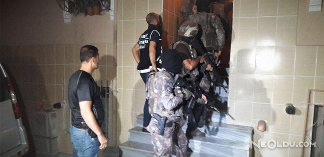 İstanbul'da 13 Adrese Uyuşturucu Operasyonu