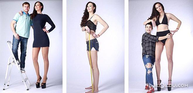 Dünyanın En Uzun Bacaklı Modeli: Ekaterina Lisina!