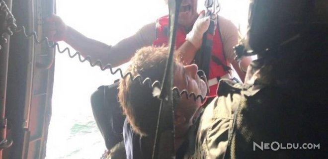 Yunan Gemicinin Yardımına Türk Gemisi Yetişti