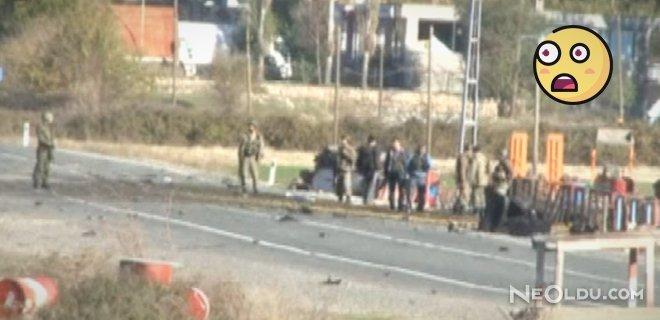 Jandarma Karakoluna Bomba Yüklü Araçla Saldırdılar
