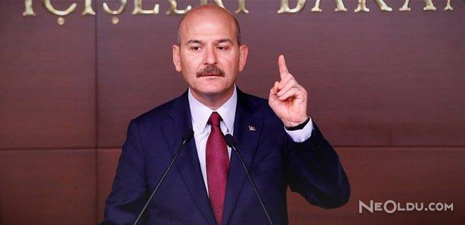 İçişleri Bakanı Soylu'dan İHA Açıklaması