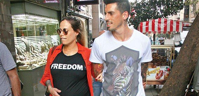 Jose Sosa'nın Eşi Trabzon'a Geldi