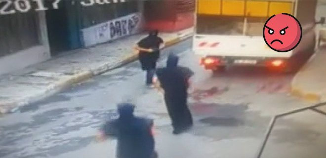 İstanbul'da Silahlı Ninja Dehşeti