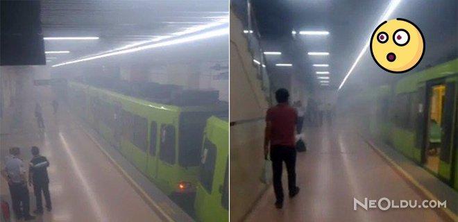 Metrodaki Duman Paniğe Neden Oldu!
