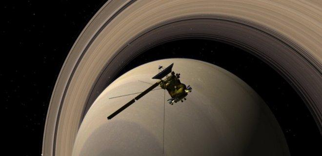 Satürn'de Görev Yapan Cassini Göreve Veda Ediyor!