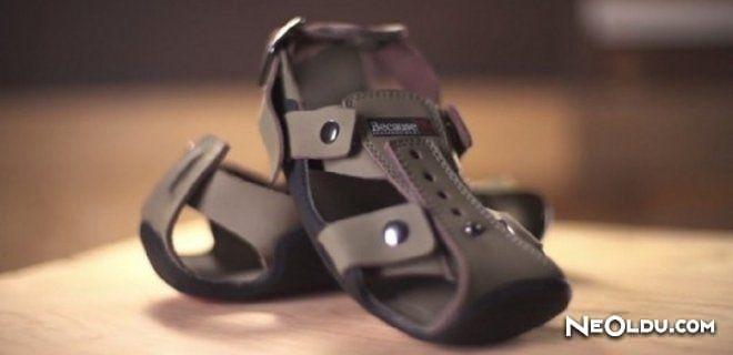 Büyüyen Sandaletler Tanıtıldı